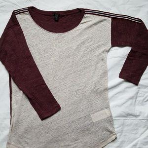 JCrew 3/4 Sleeve Shirt (NEW)